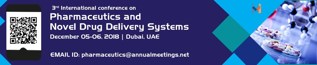 3rd International conference on Pharmaceutics & Novel Drug delivery systems