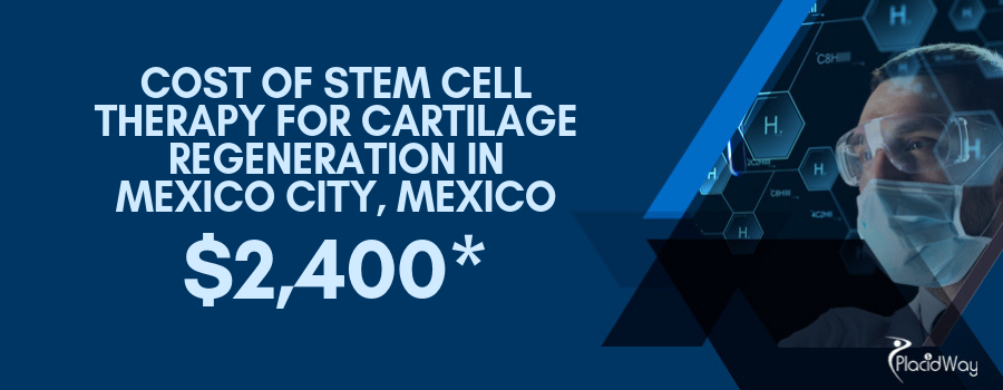 Cost of Stem Cell Treatment for Cartilage Regeneration in Mexico City, Mexico