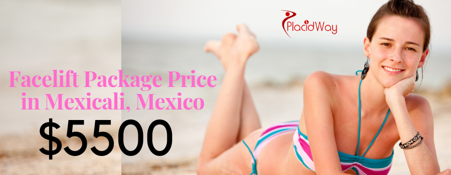 Facelift Surgery Package Price in Mexicali, Mexico
