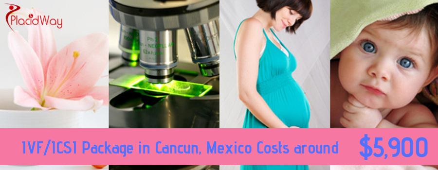 The Best IVFICSI Package in Cost Cancun, Mexico