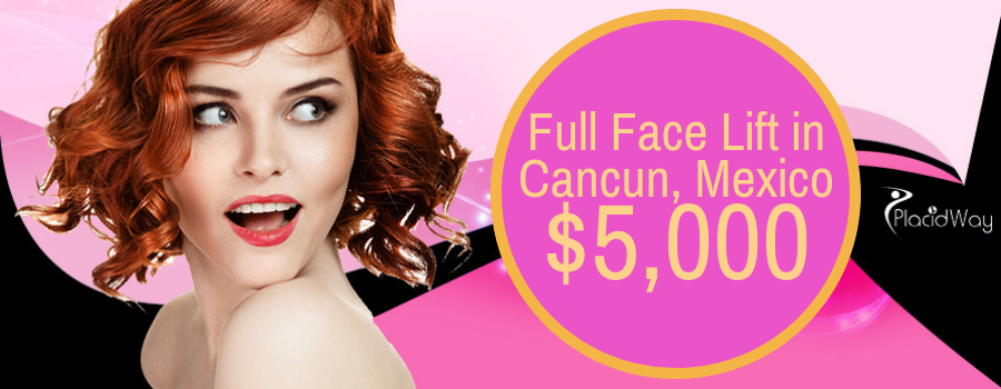 Full Face Lift in Cancun, Mexico Cost