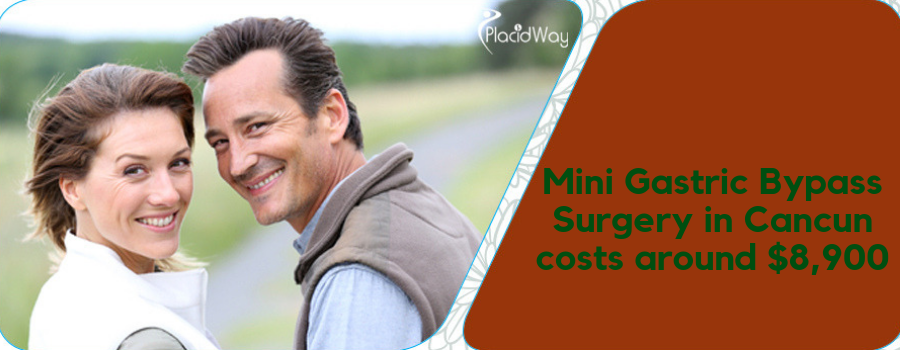 Mini Gastric Bypass Surgery in Cancun costs around $8,900