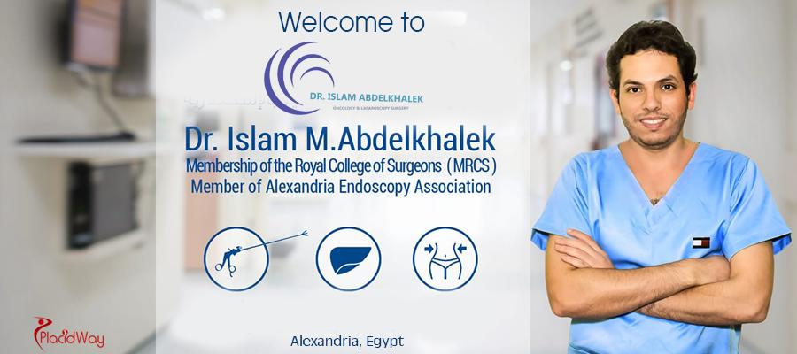 Best Oncology and Laparoscopy Surgery at Dr. Islam Abdelkhalek Clinic, Alexandria, Egypt