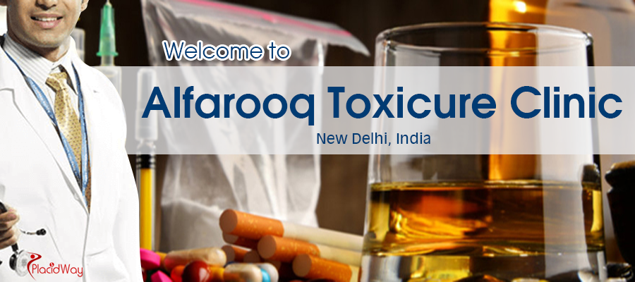 Get Rid of Substance Abuse at Alfarooq Toxicure Clinic, New Delhi, India