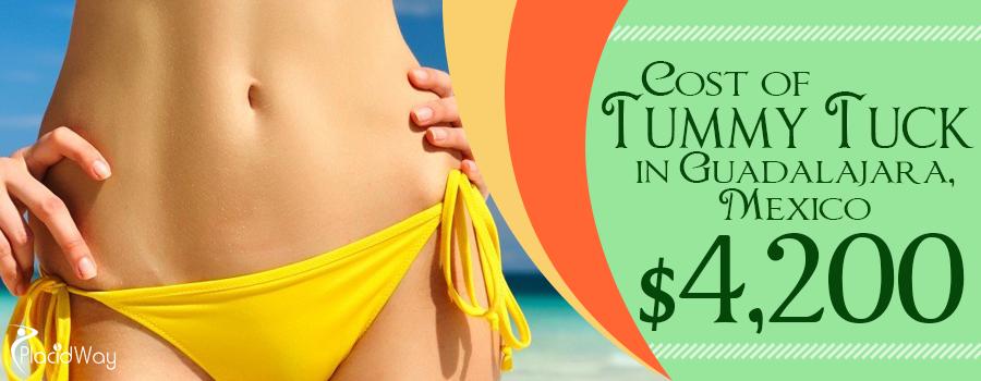 Cost of tummy tuck in Guadalajara, Mexico