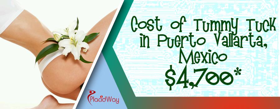 Cost of tummy tuck in Puerto Vallarta, Mexico