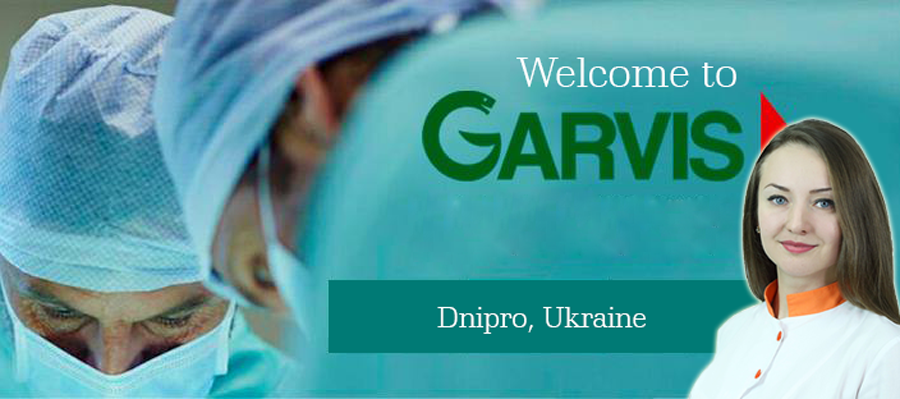 Medical Treatment at Garvis TM Clinic in Dnipro, Ukraine