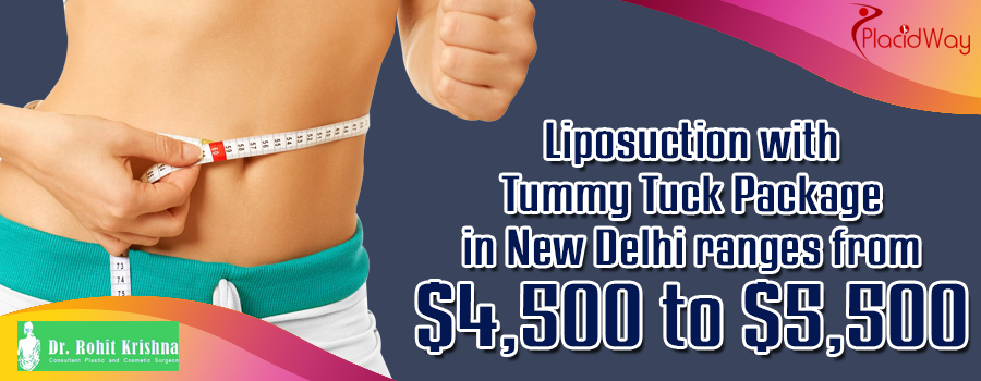 Liposuction with Tummy Tuck Package in New Delhi, India