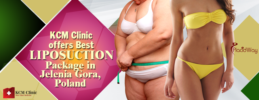 KCM Clinic offers Best Liposuction Package in Jelenia Gora, Poland