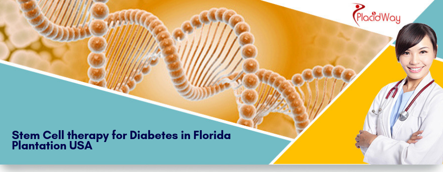 Stem Cell therapy for Diabetes in Florida Plantation USA