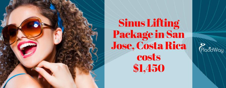 Sinus Lifting in San Jose, Costa Rica Cost