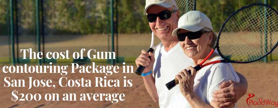 Cost of Gum contouring Package in San Jose, Costa Rica
