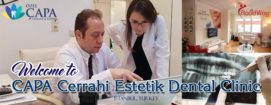 CAPA Cerrahi Estetik Dental Clinic, Istanbul, Turkey