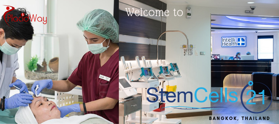 Advanced Stem Cell Therapy at StemCells21, Bangkok, Thailand