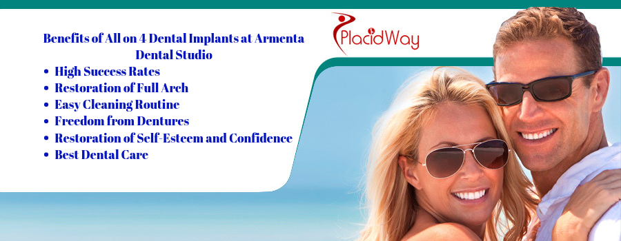 Excellent All on 4 Dental Implants Package by Armenta Dental Studio in  Puerto Vallarta, Mexico